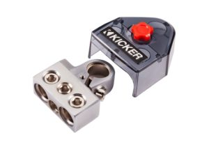 Kicker BT4 Positive,Negative Competition Battery Terminal with 1 , 0-8 Gauge and 4-8 Gauge Output