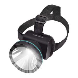 KMASHI Headlamp Flashlight, Super Bright Headlight with Rechargeable Batteries 2600 Feet Lighting Distance LED Flashlight Hunting Headlamp