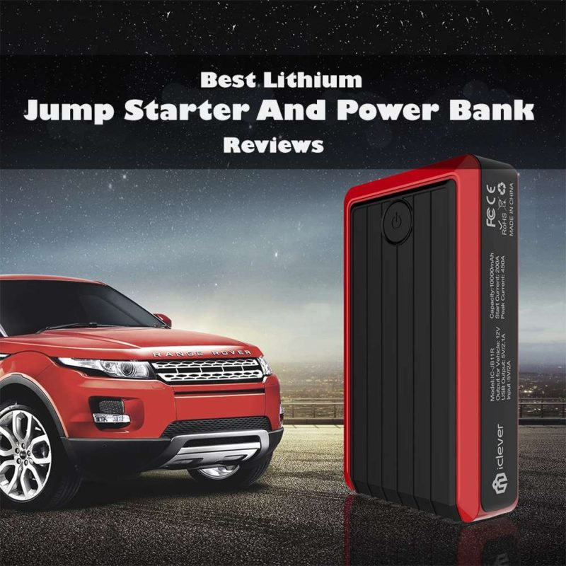 Best Power Bank 2020 Best Lithium Jump Starter and Portable Power Bank Reviews 2018/2020