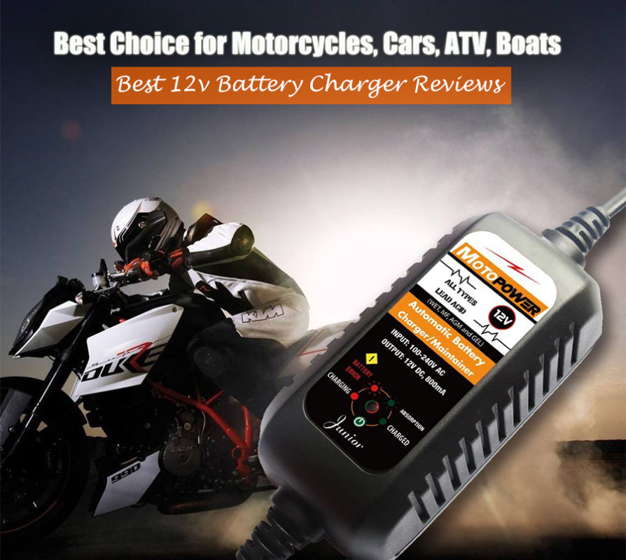 Car Battery Charger Reviews >> Top 10 Best 12v Battery Charger Reviews Car Battery Trickle Charger