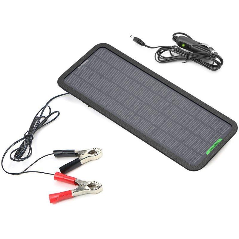 Top 10 Best 12 Volt Solar Battery Charger Reviews 2018 2020