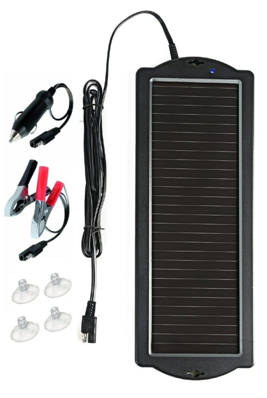 Top 10 Best 12 Volt Solar Battery Charger Reviews 2018 2020