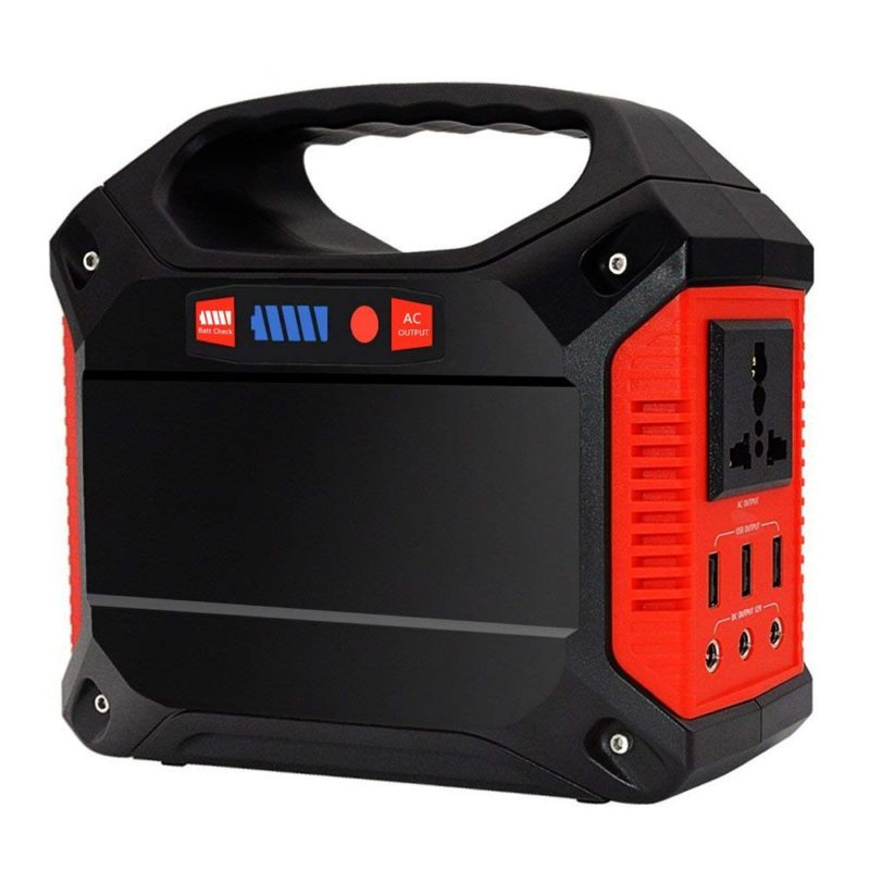 Top 9 Camping Power Generator Reviews Best For 12v Dc Converter Circuit Moreover 110 Ac To Car Charger With 110v Outlet 3 Usb Port Portable Inverter 42000mah 155wh Rechargeable Battery Pack