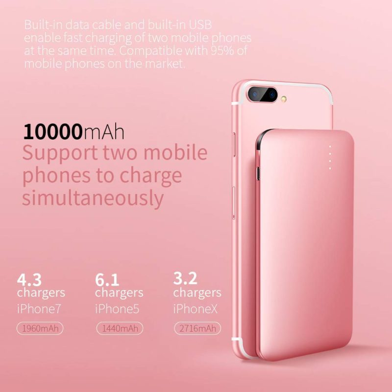 10000mah Power Bank How Many Full Charge Powerbank Anker Powercore Black With Quick 30 Support